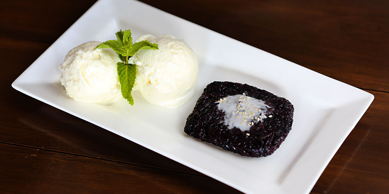 Black Sticky Rice at We Thai Cuisine Putney